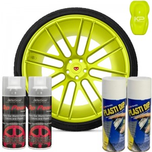 Plasti Dip zestaw do felg Polaris Yellow