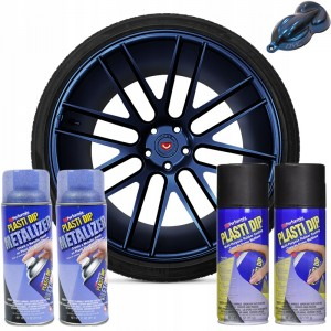 Plasti Dip zestaw do felg Blue Metalizer